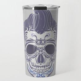 Skull of the sixties Travel Mug