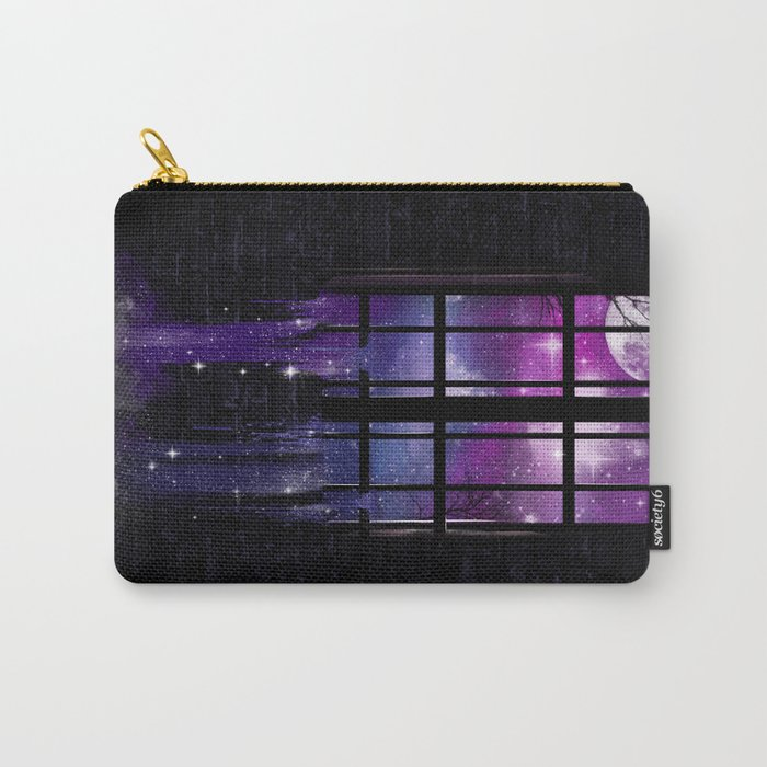 Let the Stars Flow Into You Carry-All Pouch