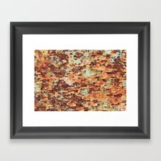 Colorful Grunge Abstract No.1 Framed Art Print