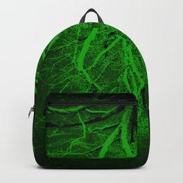 Twisted Perception Green Backpack