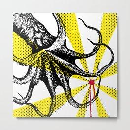 Kraken Up Metal Print