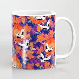 Japanese Garden: Cranes, Sun and Blossoms DK Coffee Mug