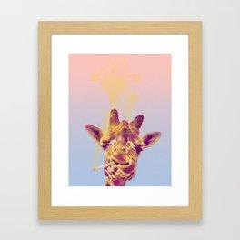 Smokin' Hot Framed Art Print