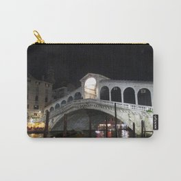 The Rialto Bridge At Night  Carry-All Pouch