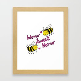 Homo Sweet Homo Framed Art Print