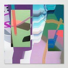Split and Twist Canvas Print