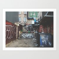 Back Alley Art Print