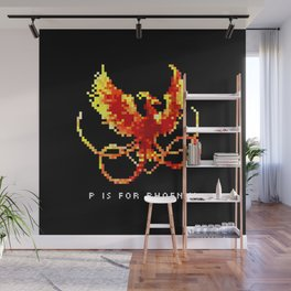 P is for Phoenix Wall Mural
