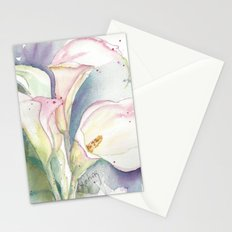 Calla Lillies Stationery Cards
