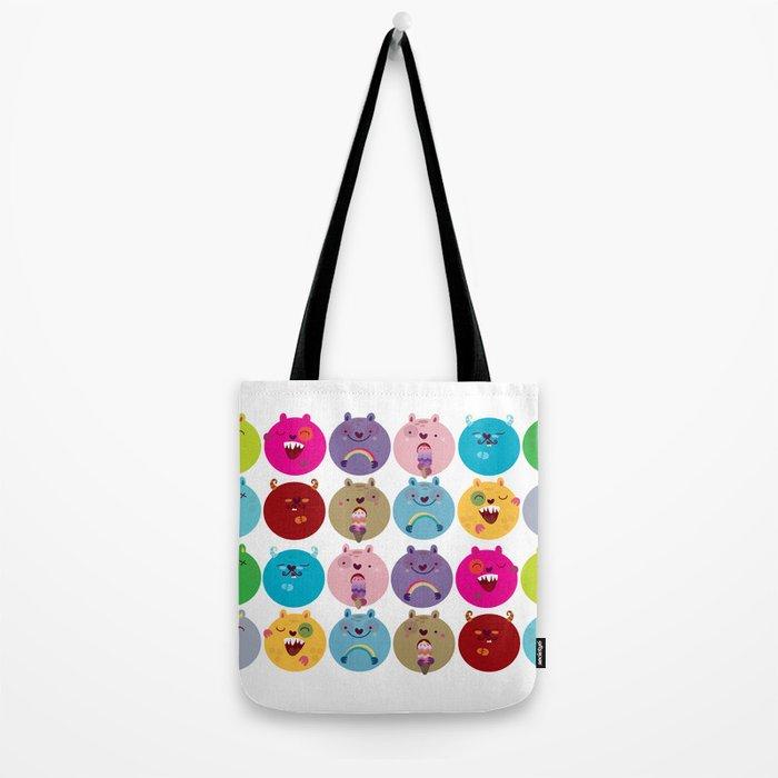 Cute bunnyballs Tote Bag