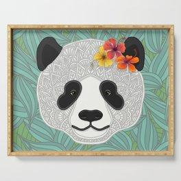 Tropical Panda Serving Tray