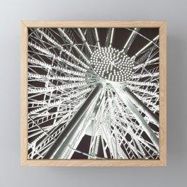 The big wheel Framed Mini Art Print