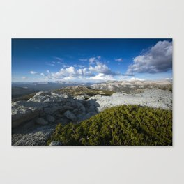 The Range Canvas Print