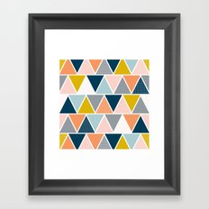 Triangulum Retreat Framed Art Print