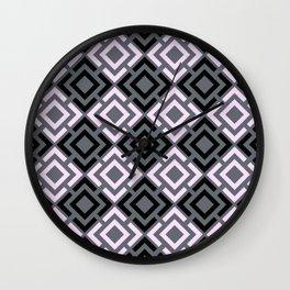 Geometric pattern , Margo Wall Clock