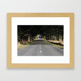 long drive Framed Art Print