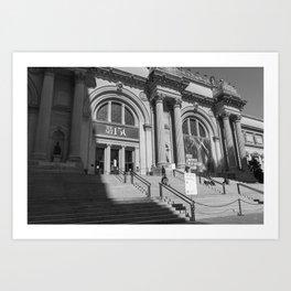 New York City, Metropolitan Museum of Art Art Print