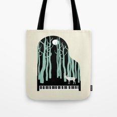 Rachmaninoff -  Prelude in C-Sharp Minor for Piano Tote Bag