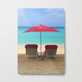 Escape to Paradise Metal Print