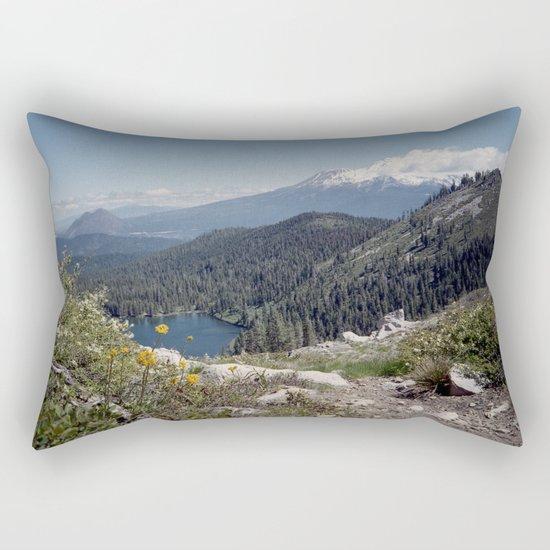 Mt Shasta Rectangular Pillow