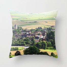 Bourgogne - Chablis Throw Pillow