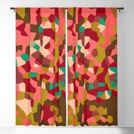 Pink Lemonade Party Geometric Blackout Curtain
