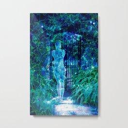 Blue Spirit Metal Print