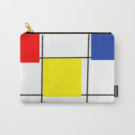 Colourful design squares Carry-All Pouch