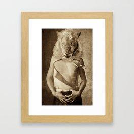 Billy Lion Framed Art Print