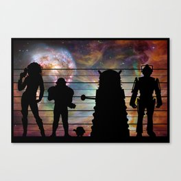 Doctor Who: The Whovian Suspects Canvas Print