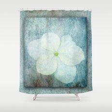 3D Hydrangea Shower Curtain