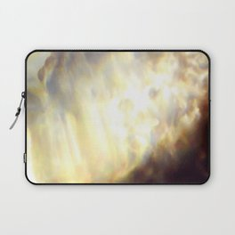 Christmas Lights and White Wine Laptop Sleeve