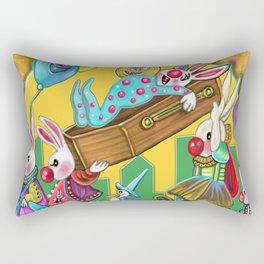 Bunny Slumber Halloween party Rectangular Pillow