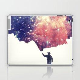 Painting the universe Laptop & iPad Skin
