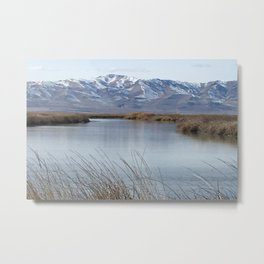 Bear River Metal Print