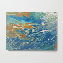 Fluid painting 18. Metal Print