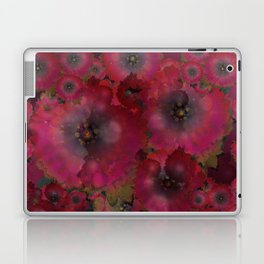 """Manila deep rose flowers"" Laptop & iPad Skin"