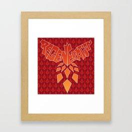 Regeneration Framed Art Print