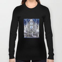 Hot Rod Blue, Automotive Art with Lots of Chrome by Murray Bolesta Long Sleeve T-shirt