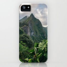 Old Pali Highway  iPhone Case