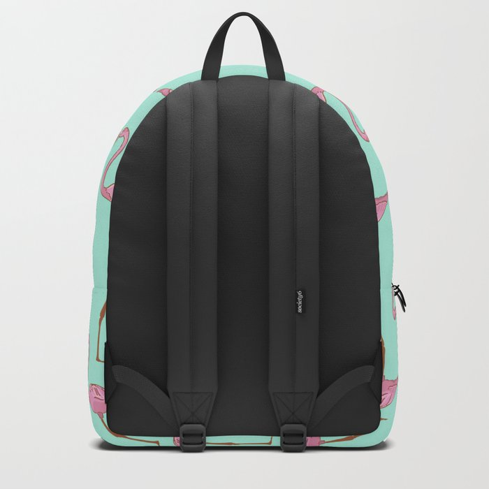 Pink Flamingo Backpack