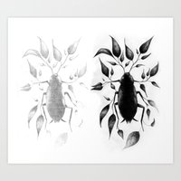 bugs Art Prints featuring bugs by David Cristobal