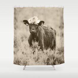 Daisy- Cream Shower Curtain