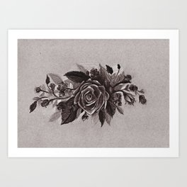 A Rose by any other Name... Art Print
