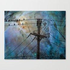 Night Spark Canvas Print