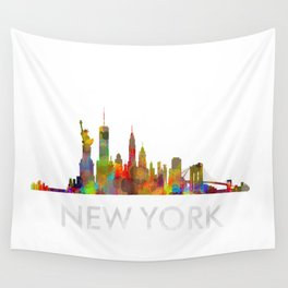 NY-New York Skyline HQ Wall Tapestry