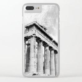Mystical Parthenon Clear iPhone Case