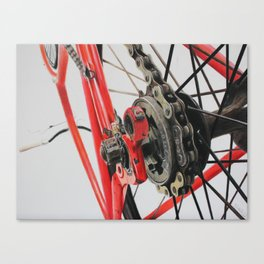Freewheel Canvas Print