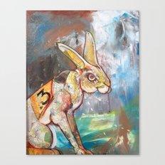 Runner Canvas Print