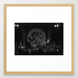 Anti-Flag Framed Art Print